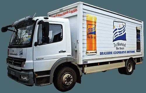 Camion livraison Tri Martolod