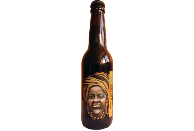 Upside Brown Black Lager